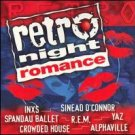 RETRO NIGHT ROMANCE - Various Artists CD 1998