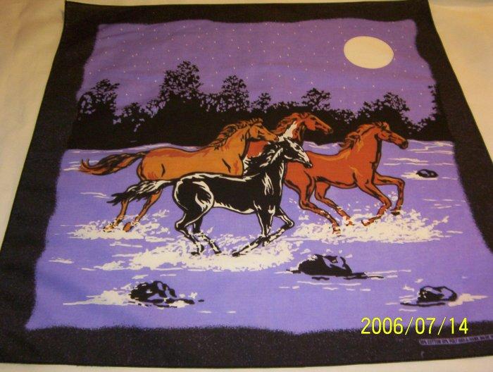 Thundering Horses Bandana