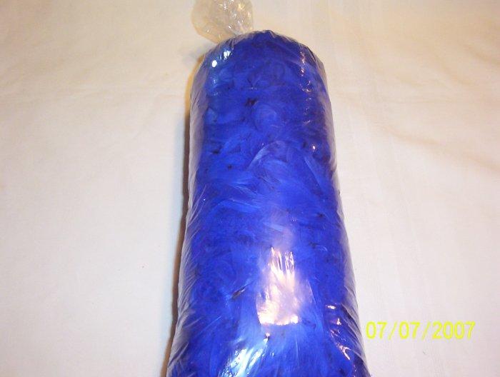Royal Blue Florette Feathers - 4 oz