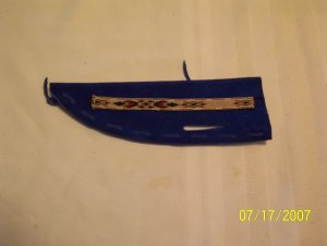 Knife Sheath - Royal Blue