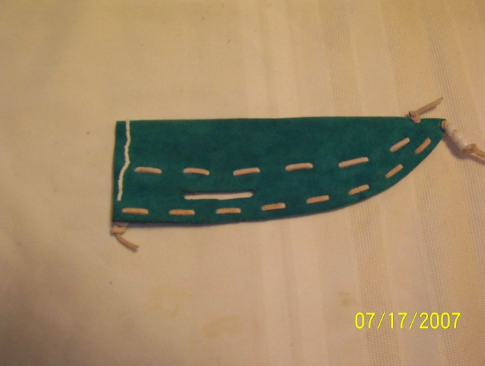 Knife Sheath - Turquoise
