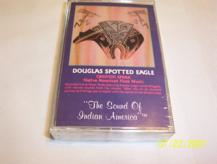 Canyon Speak by Douglas Spotted Eagle Cassette