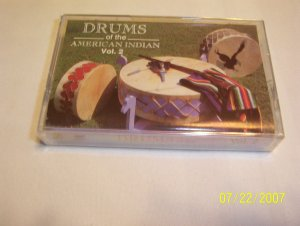 Drums of the American Indian - Vol 2 Cassette