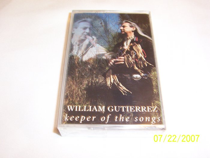 Keeper of the Songs by William Gutierrez Cassette