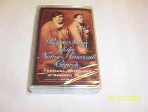 Peyote Songs of the Native American Church by Primeaux & Mike Cassette