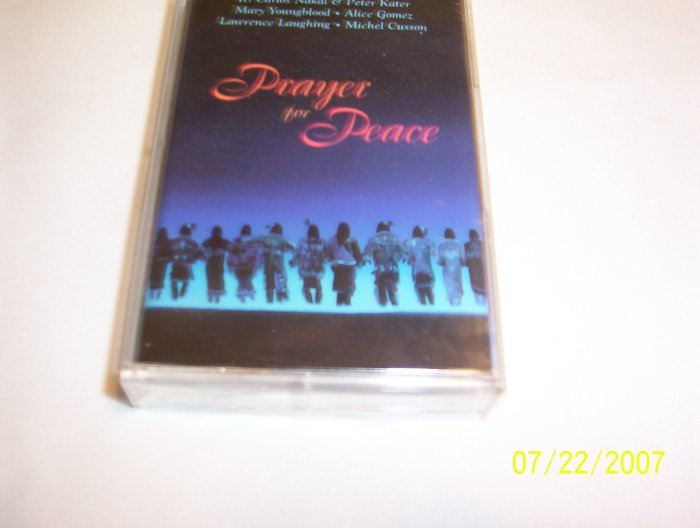 Prayer for Peace by Various Artists Cassette