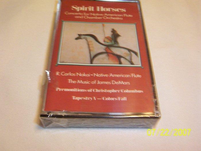 Spirit Horses by DeMars and Nakai Cassette
