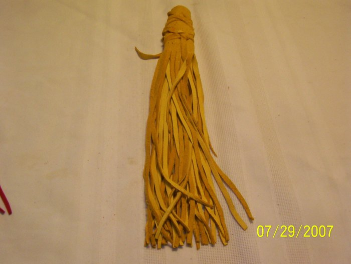 "Braid Wraps - 10""  Yellow"