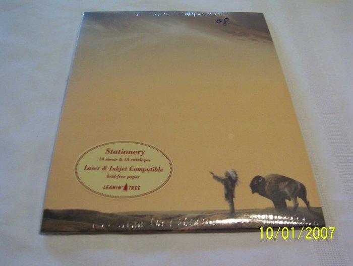 Buffalo Prayer Stationery