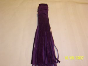 "Braid Wraps - 6"" - Purple"
