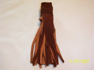 "Braid Wraps - 4"" - Brown"