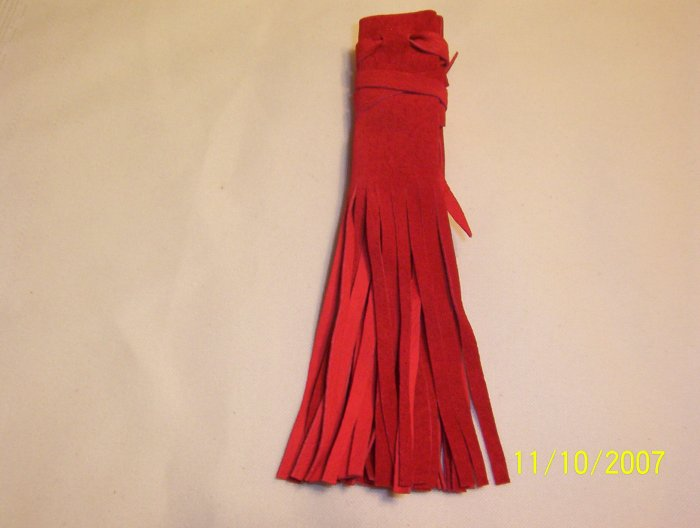 "Braid Wraps - 4"" - Red"