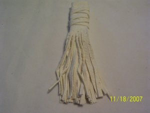 "Braid Wraps - 4"" - White"