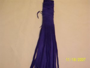 "Braid Wraps - 6"" - Electric Blue"