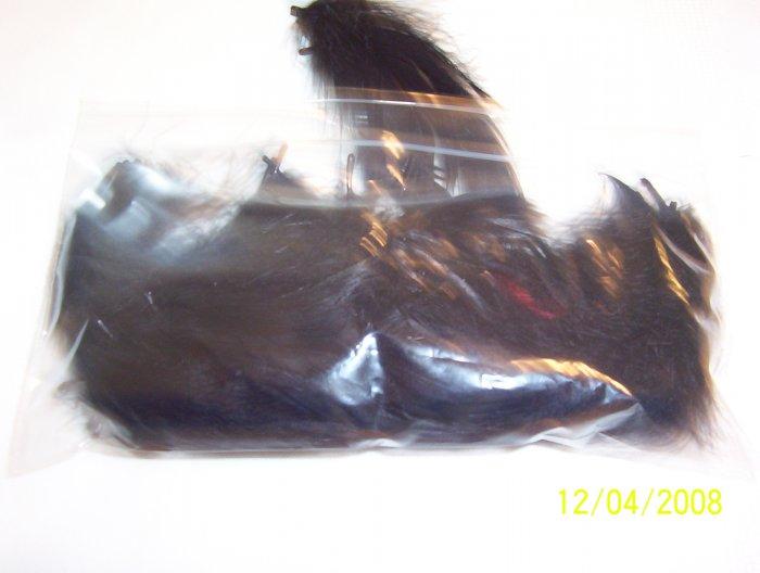 Black Florette Feathers - 1/2 oz