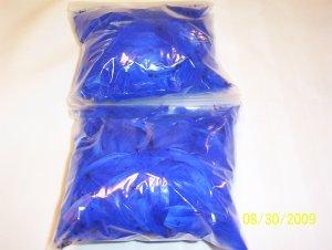 Royal Blue Florette Feathers - 1 oz