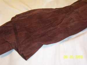 Brown - Dark - Tanned Cow Hide - 12 sq ft