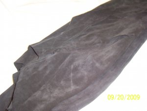 Black - Tanned Cow Hide - 14.1 sq ft