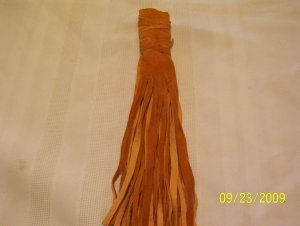 "Braid Wraps - 6"" - Pumpkin"