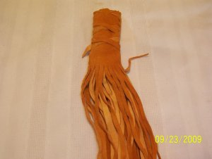 "Braid Wraps - 10"" - Pumpkin"