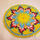 Starburst Design - Yellow - Rosette - 3""
