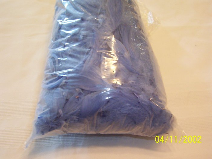 Light Blue Florette Feathers - 2 oz
