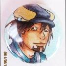 Anime TIGER&BUNNY (Tiger/Kotetsu T. Kaburagi) Button Pin