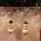 Snowman Mini Earring