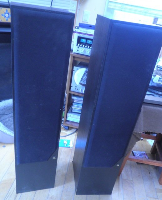 AR 328 PS Acoustic Research HIGH END STEREO SPEAKERS work NICE