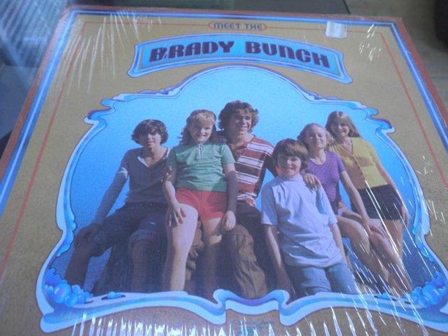 MEET THE BRADY BUNCH / MAUREEN McCORMICK LP in shrink M-