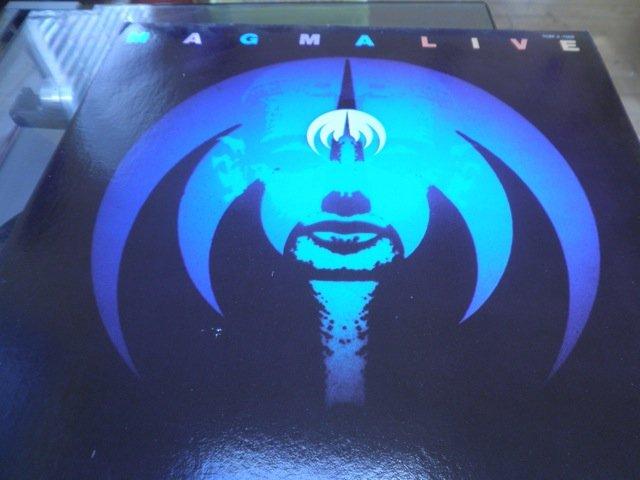 MAGMA LIVE - 2 LP 1978 original psych M-