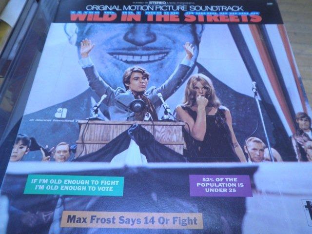 davie allen / wild in the streets 60's PSYCH SOUNDTRACK NEAR MINT LP