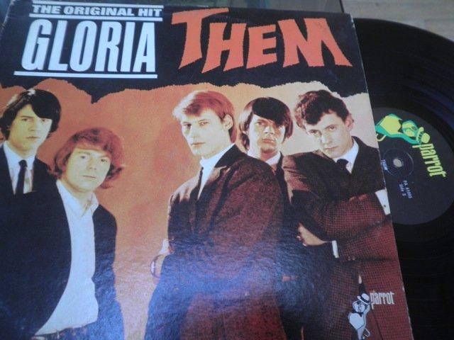 THEM - ORIGINAL HIT GLORIA US MONO LP