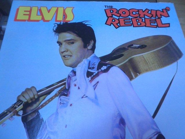ELVIS PRESLEY - THE ROCKIN' REBEL Milton Berle / Alternative Sun Sessions RARE LP MINT