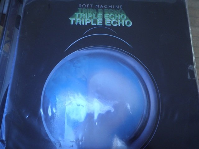 SOFT MACHINE - TRIPLE ECHO 3 LP PSYCH JAZZ SET