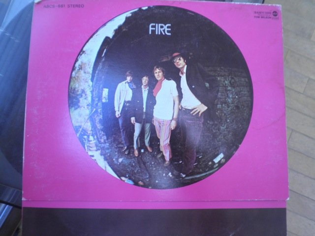 FIRE - s/t orig 60's US psych on ABC LP