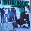 KILLED BY DEATH VOL 4 RARE 77-82 PUNK ROCK COMP LP NM