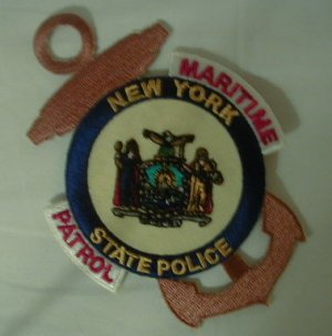 New York State Police Maritime Detail patch