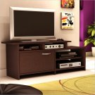 Back Bay TV Stand in Chocolate Finish