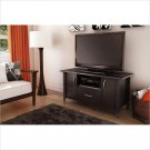 Axess TV Stand in Chocolate Finish