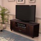 "Dover 60"" TV Stand in Dark Mahogany"