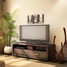 "Solstice 42"" Chocolate TV Stand"