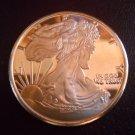 2011 AMERICAN WALKING LIBERTY 1oz AVDP .999 fine COPPER Coin
