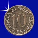 """""""10 DINARA 1986 Jugoslavije"""""""