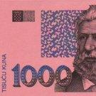 1000 KUNA UNC.