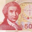 50,000 hrvatskih Dinare 1993 UNC.