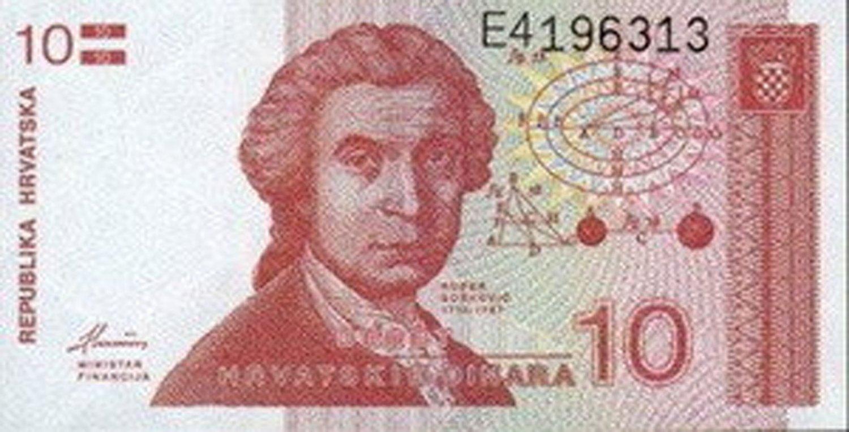 10 hrvatskih dinara 1991. UNC.