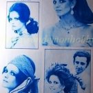 Claudia Cardinale clipping pinup 1971 : 71s2