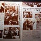 Luchino Visconti Alain Delon Bjorn Andresen Helmut Berger 6pages : 87s8