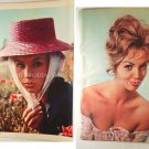 Francoise Arnoul /  Mylene Demongeot clipping pinup '60 :